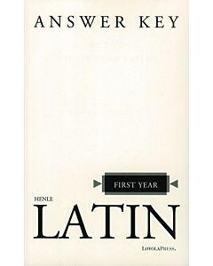 First Year Latin Answer Key