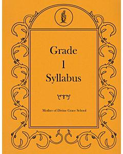 First Grade Syllabus
