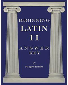 Beginning Latin II - Answer Key
