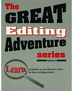 The Great Editing Adventure Series: Volume 2