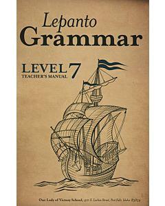 Lepanto Grammar 7 Teacher's Manual