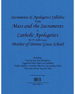 Sacraments & Apologetics Syllabus