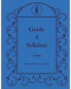Fourth Grade Syllabus
