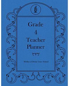 Fourth Grade Teacher Planner