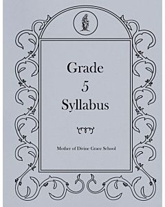 Fifth Grade Syllabus