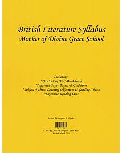 British Literature Syllabus