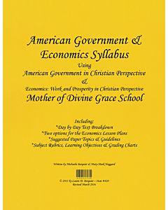 American Government & Economics Syllabus (ABeka)