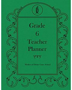 Sixth Grade Teacher Planner