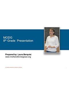 Grade Overview: 8th Grade