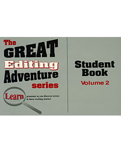 The Great Editing Adventure Student Book: Volume 2