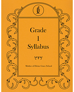 First Grade Syllabus