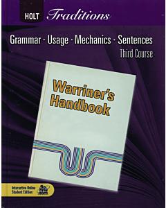 Holt Traditions Warriner's Handbook