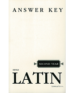 Second Year Latin Answer Key