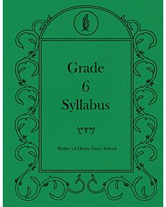 Sixth Grade Syllabus