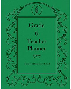 Sixth Grade Teacher Planner