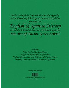 Medieval English & Spanish History & Literature Syllabus