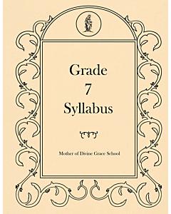 Seventh Grade Syllabus