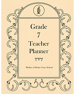 Seventh Grade Teacher Planner