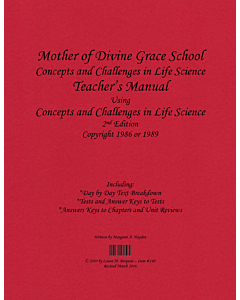 Concepts and Challenges in Life Science Teacher's Manual