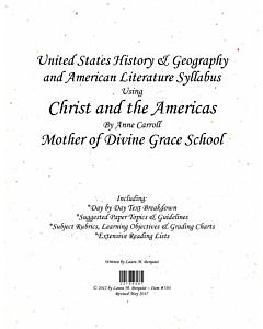 US History & American Literature Syllabus