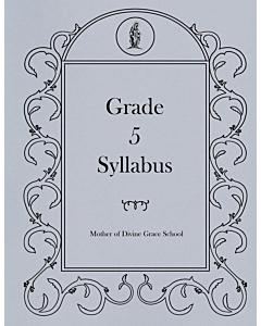 Fifth Grade Syllabus