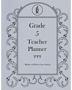 Fifth Grade Teacher Planner