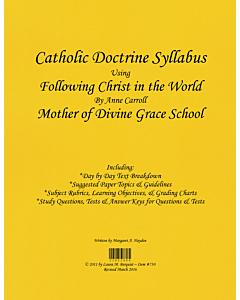 Catholic Doctrine Syllabus