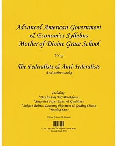 Advanced American Government & Economics Syllabus