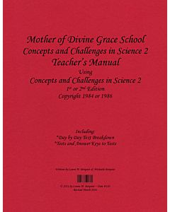 Concepts and Challenges in Science Book 2/7th Grade Science Teacher's Manual