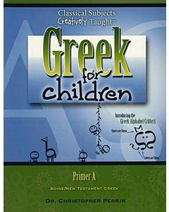 Greek for Children, Primer A