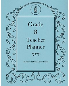 Eighth Grade Teacher Planner