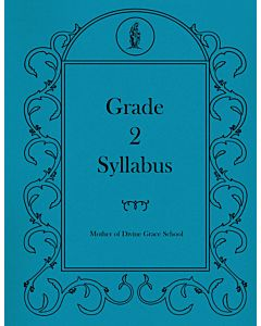 Second Grade Syllabus