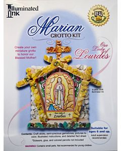 Marian Grotto Kit - Our Lady of Lourdes