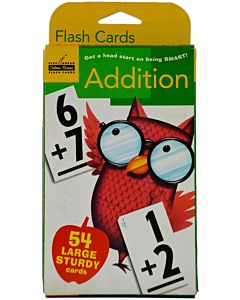 Flash Cards: Addition (Step Ahead )