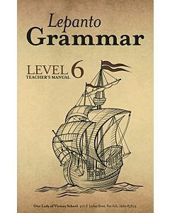 Lepanto Grammar 6 Teacher's Manual