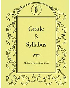 Third Grade Syllabus
