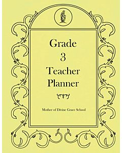 Third Grade Teacher Planner