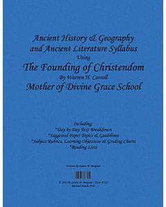 Ancient History & Literature Syllabus