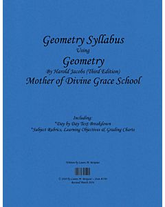 Geometry Syllabus (Jacobs 3rd Edition)