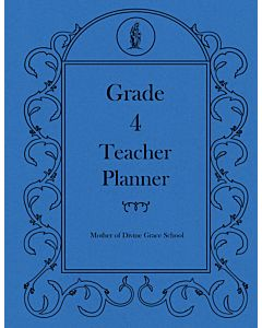 Fourth Grade Teacher Planner