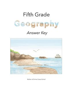 Fifth Grade Geography Answer Key