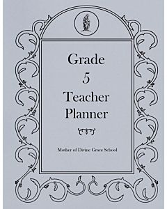 Fifth Grade Teacher Planner