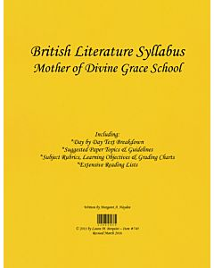 British Literature Syllabus