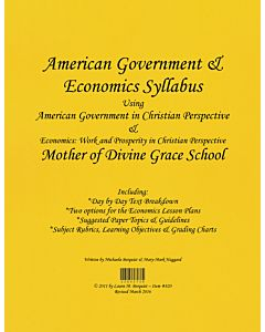 American Government & Economics Syllabus (ABeka)