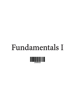 Fundamentals 1 Vocabulary Cards - Main Set
